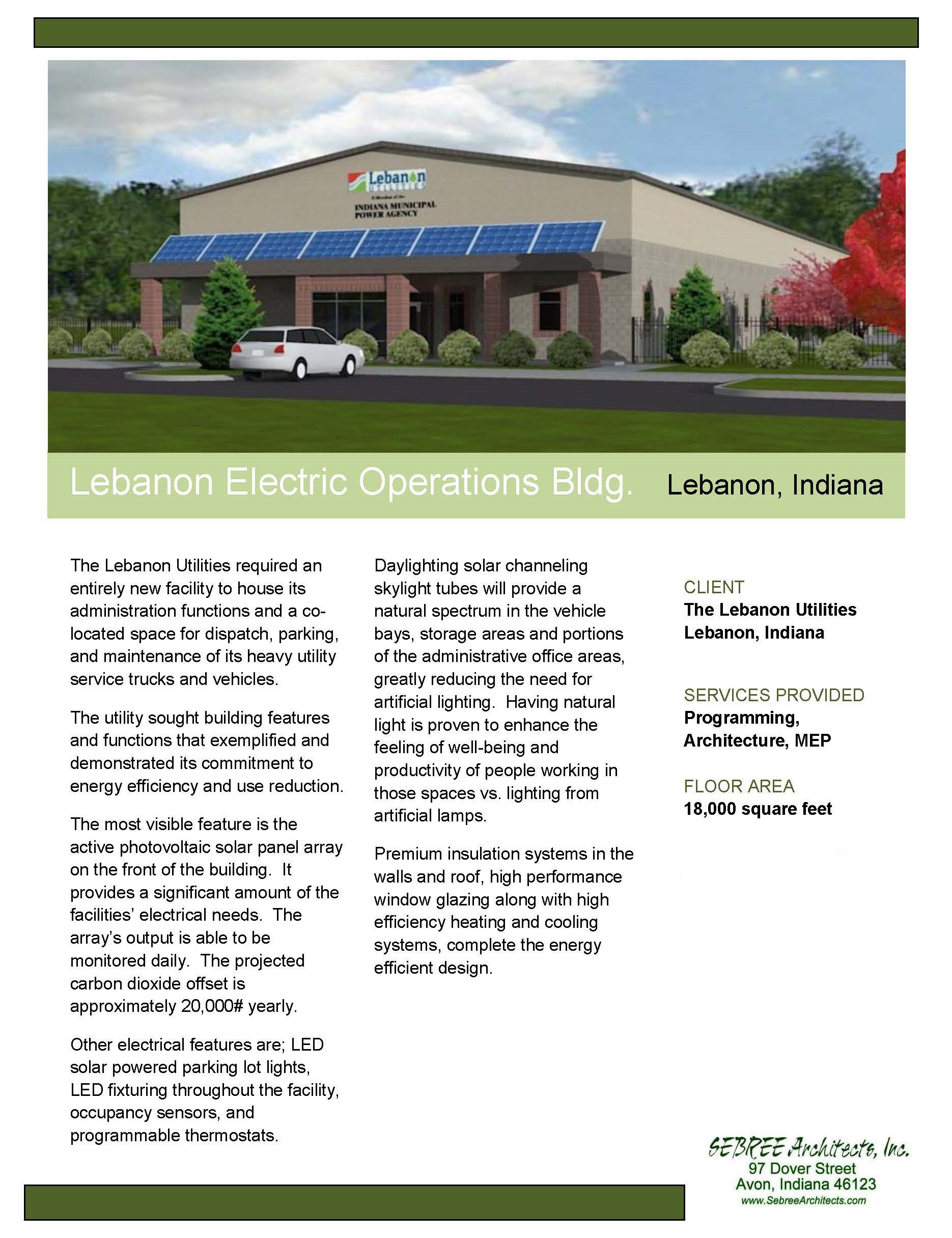 Electric Operations Building